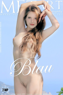 Met Art - Ariana A - Blau by Matiss