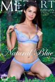 Martina Mink in Natural Blue