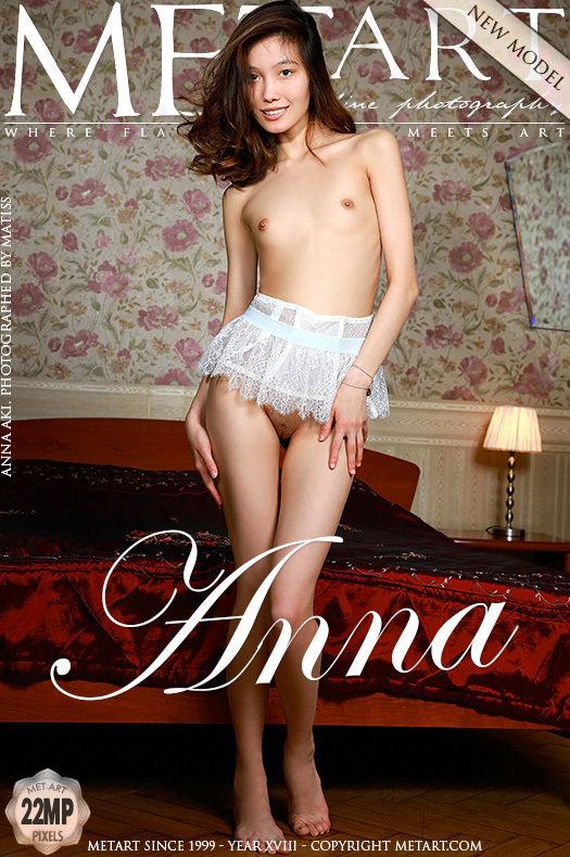 Anna Aki Sexy Fille Nue Photo Erotique MetArt