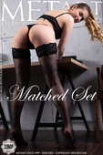 Katty Muss Nude in Matched Set