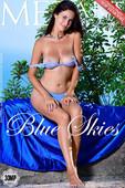 Martina Mink in Blue Skies