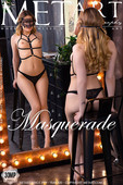 Katty Muss Nude in Masquerade